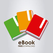 Ebook icon — Stock Vector