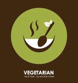 Alimentos orgânicos — Vetorial Stock