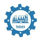 Indutry design — Stock Vector