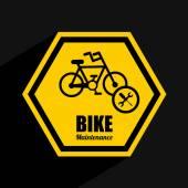 Bike maintenance — Stock Vector