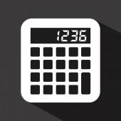 计算器的设计 — 图库矢量图片