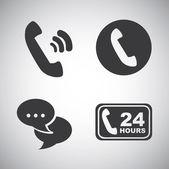 コミュニケーション図 — ストックベクタ