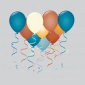 Balloons illustration — Stock Vector