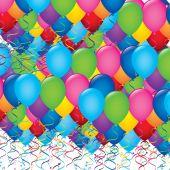 Ballons illustration — Stock Vector