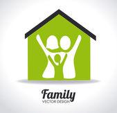 Family design — Stock Vector