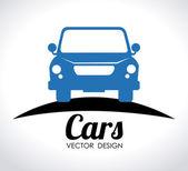 自動車デザイン — ストックベクタ