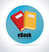 Progettazione ebook — Vettoriale Stock