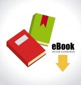 EBook design — Cтоковый вектор
