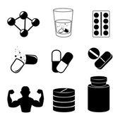 Fitness ontwerp — Stockvector