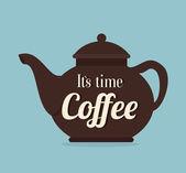 Coffee ndesign — ストックベクタ