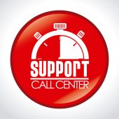 Call center ndesign — Stock Vector
