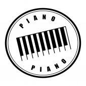Piano design  — ストックベクタ