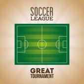Piłka nożna projekt — Wektor stockowy