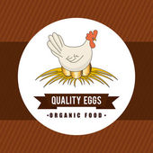 Eggs design  — Stock Vector