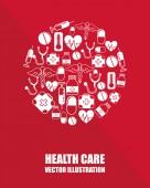 здравоохранение дизайн — Cтоковый вектор
