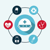 Medical design  — Vector de stock