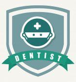 Dentist  design  — Stock Vector
