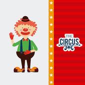 Circus ontwerp — Stockvector