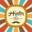 Hipster design — Stock Vector #54430415