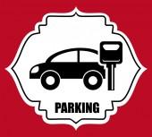Conception de stationnement — Vecteur