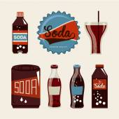 Soda design — Stock Vector