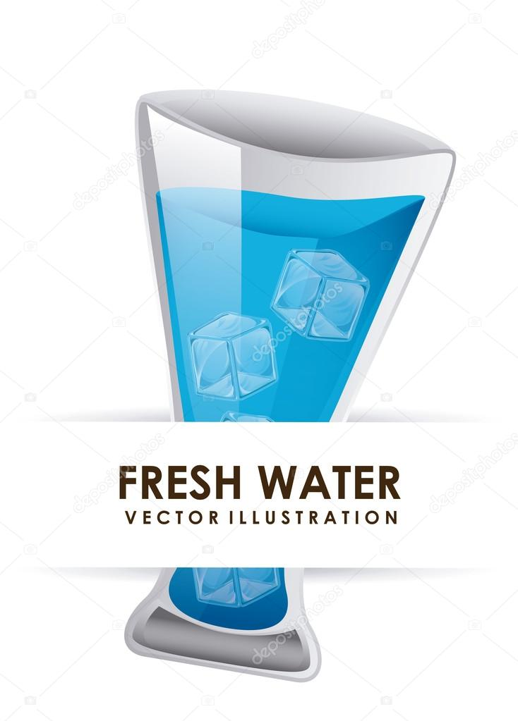 Water Design Vector Water Graphic Design Vector