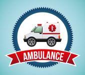 Ambulance design  — Stock Vector