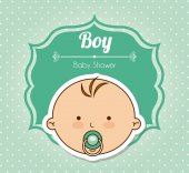 Baby-design — Stockvektor