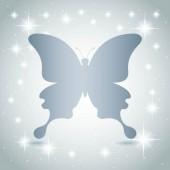 Conception de papillon — Vecteur