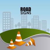 Road design — Stock Vector