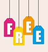 Free design — Stock Vector
