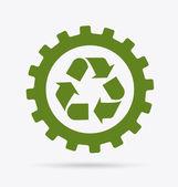 Reciclar design — Vetorial Stock