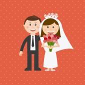 Projeto casamento — Vetorial Stock