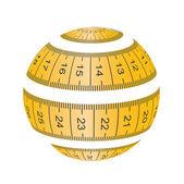 Measuringdesign  — Stockvector