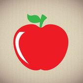 Apple diseño — Vector de stock