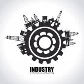 Industrie ontwerp — Stockvector