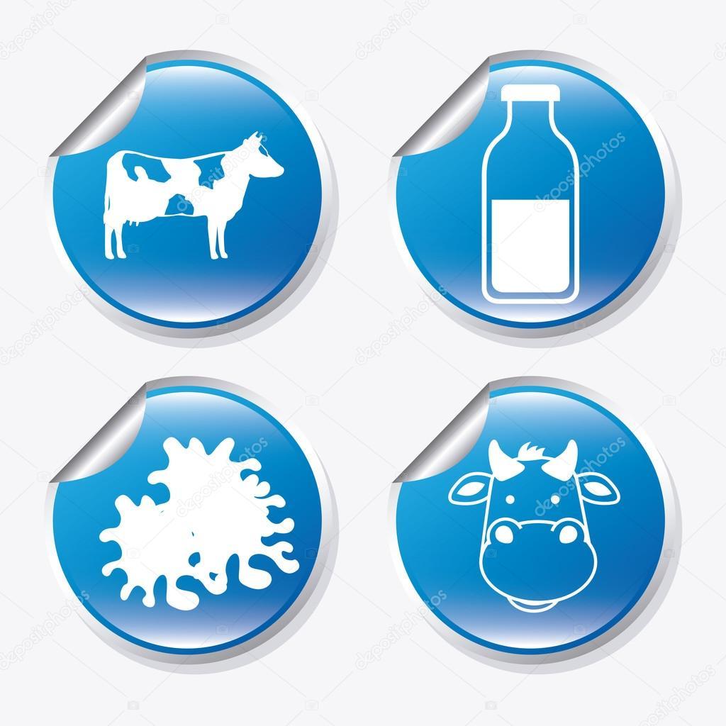 牛奶设计 — 图库矢量图像08