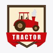 Tractor design  — Stock Vector