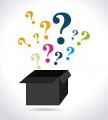 Question design — Stock Vector