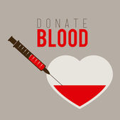 Blood design — Stock Vector