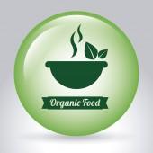 Vegan food design — Stock Vector