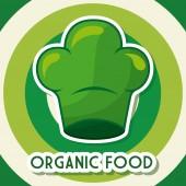 Progettazione di cibo vegano — Vettoriale Stock