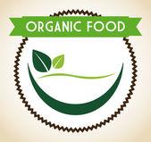 Projeto de comida vegan — Vetor de Stock