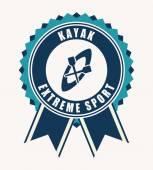 Kayak design  — Stock Vector