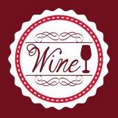 Wine design — Stock Vector