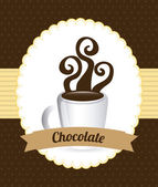 Chocolate design  — Stock Vector