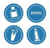 Dental design  — Stock Vector