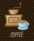 Coffee design  — Vector de stock