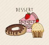 Bakery design  — Vector de stock
