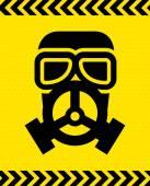 Mask gas design  — Stock Vector